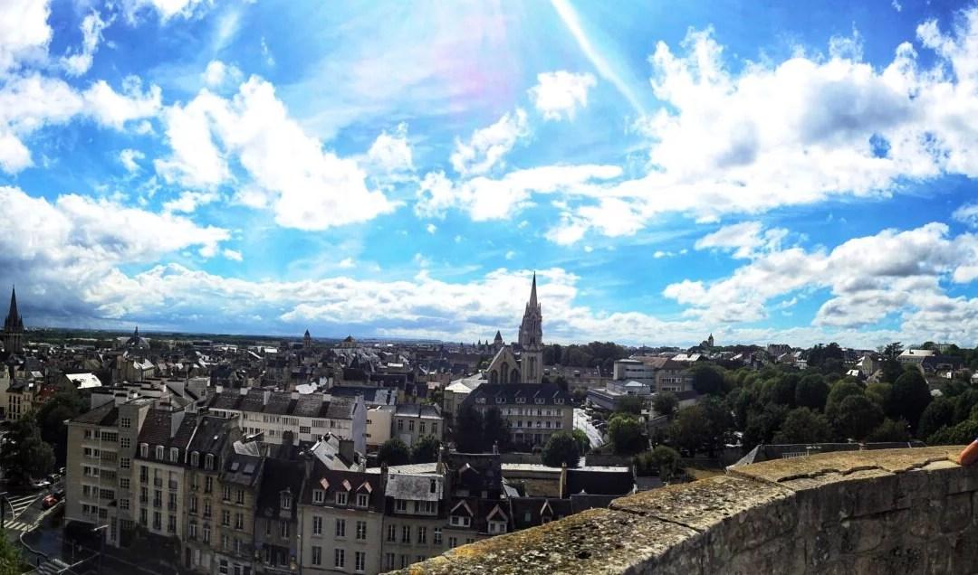 Ma visite de Caen