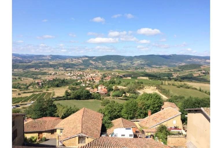 Le village d'Oingt