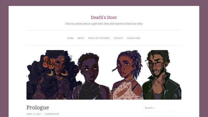 The Death's Door Web Serial