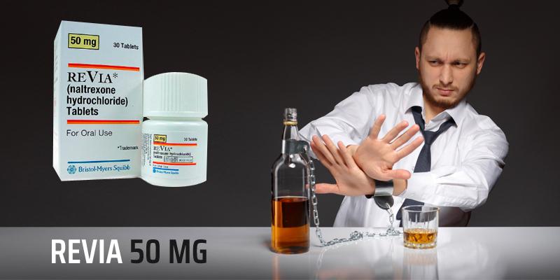 Revia 50 mg - ReviaHome.com