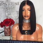 Short Bob Wigs Glueless Lace Front Wig Brazilian Remy Full Lace Human Hair Wigs
