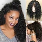Virgin Brazilian Human Hair Wigs Deep Wave 360 Full Frontal Lace Wig Baby Hair G