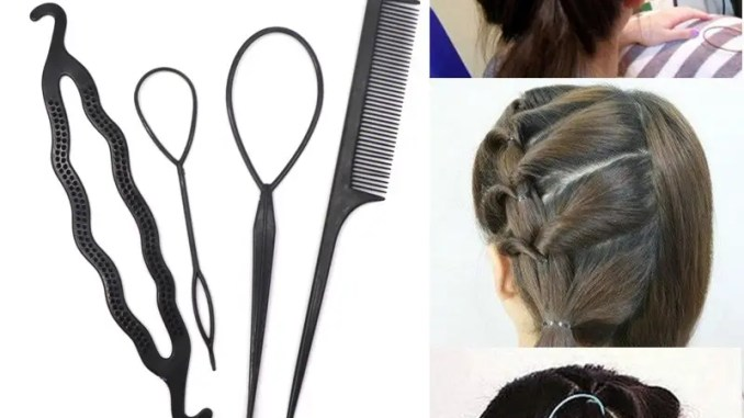 Black Hair Bands 5
