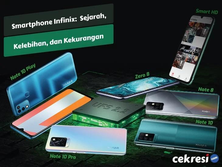 Smartphone Infinix: Sejarah, Kelebihan, dan Kekurangan