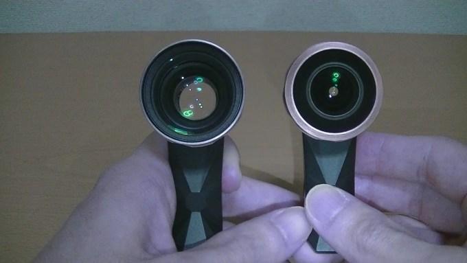 レンズの比較