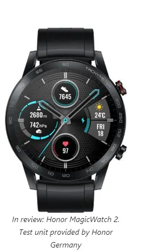 Honor MagicWatch 2 Smartwatch Review