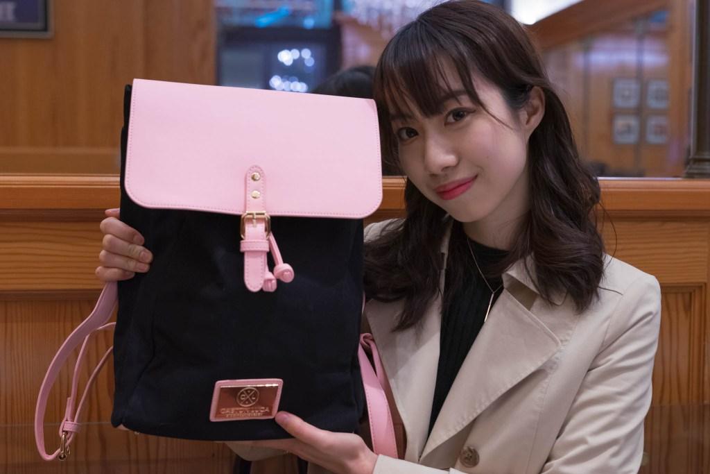 【クレッシー】ブラック&ピンク