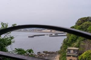 相模湾の眺望
