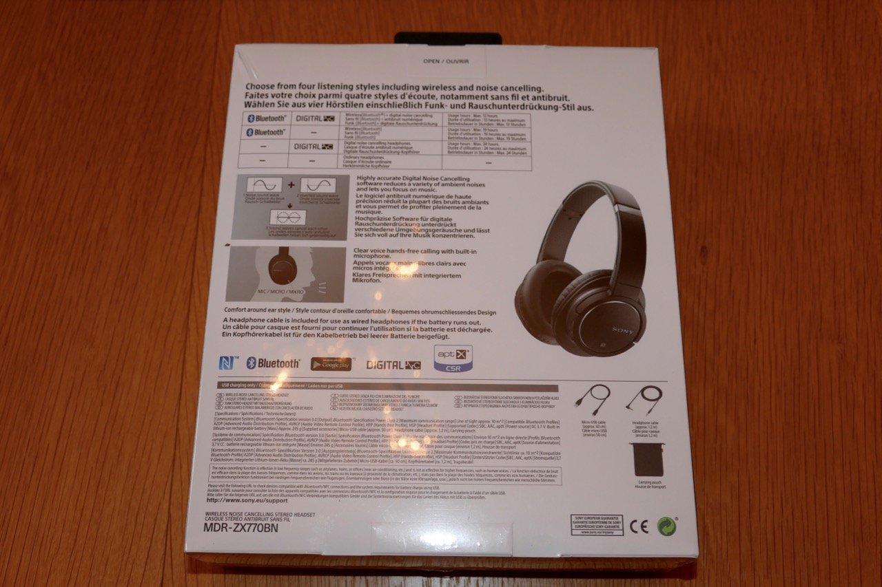 Sony Mdr Zx770bn Review