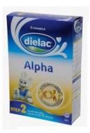 Sữa bột Dielac Alpha 2 hộp giấy 400g