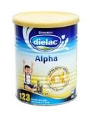 Sữa bột Dielac Alpha 123 (Lon 400g)