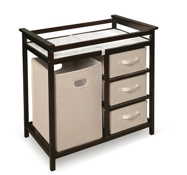 7. South Shore Peak-a-Boo Collection Changing Table