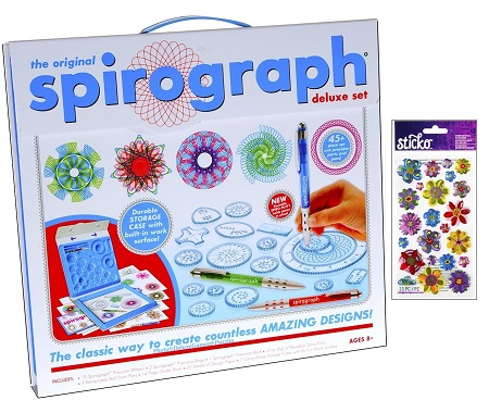 Deluxe Games and Puzzle Spirograph Set