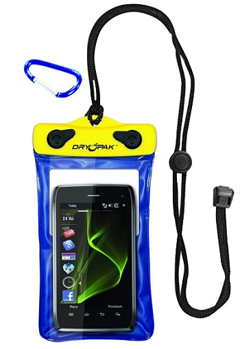 Dry Pak DP-46 Cell Phone mp3, Gps Waterproof Case