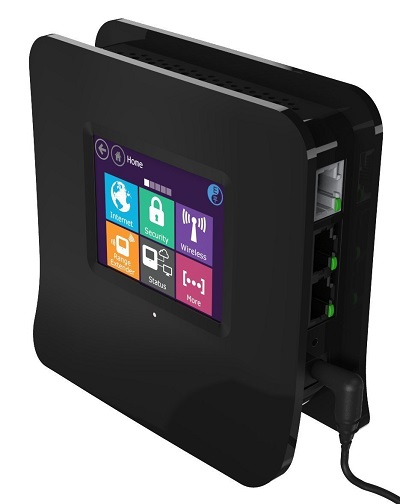 Securifi Almond Touchscreen Wi-Fi Booster