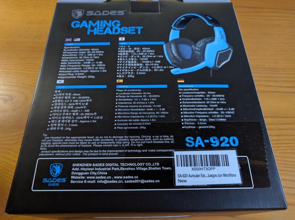 SADES PS$-PC Cascos Gaming (15)