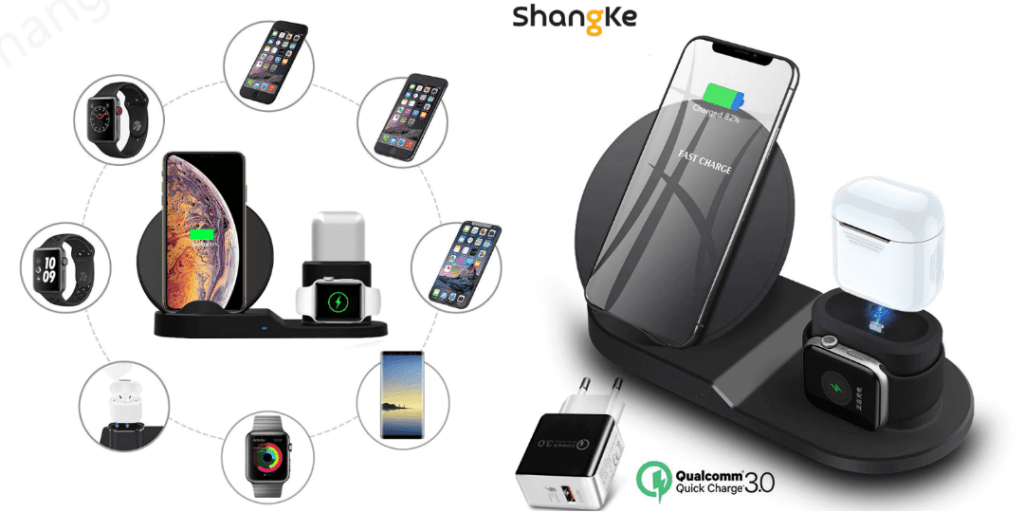 3. Shangke Wireless Charger 3 in 1 a-Best Sellers Aliexpress