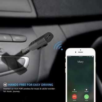25. Bluetooth Adopter for AUX - Souq.com under 50 SAR