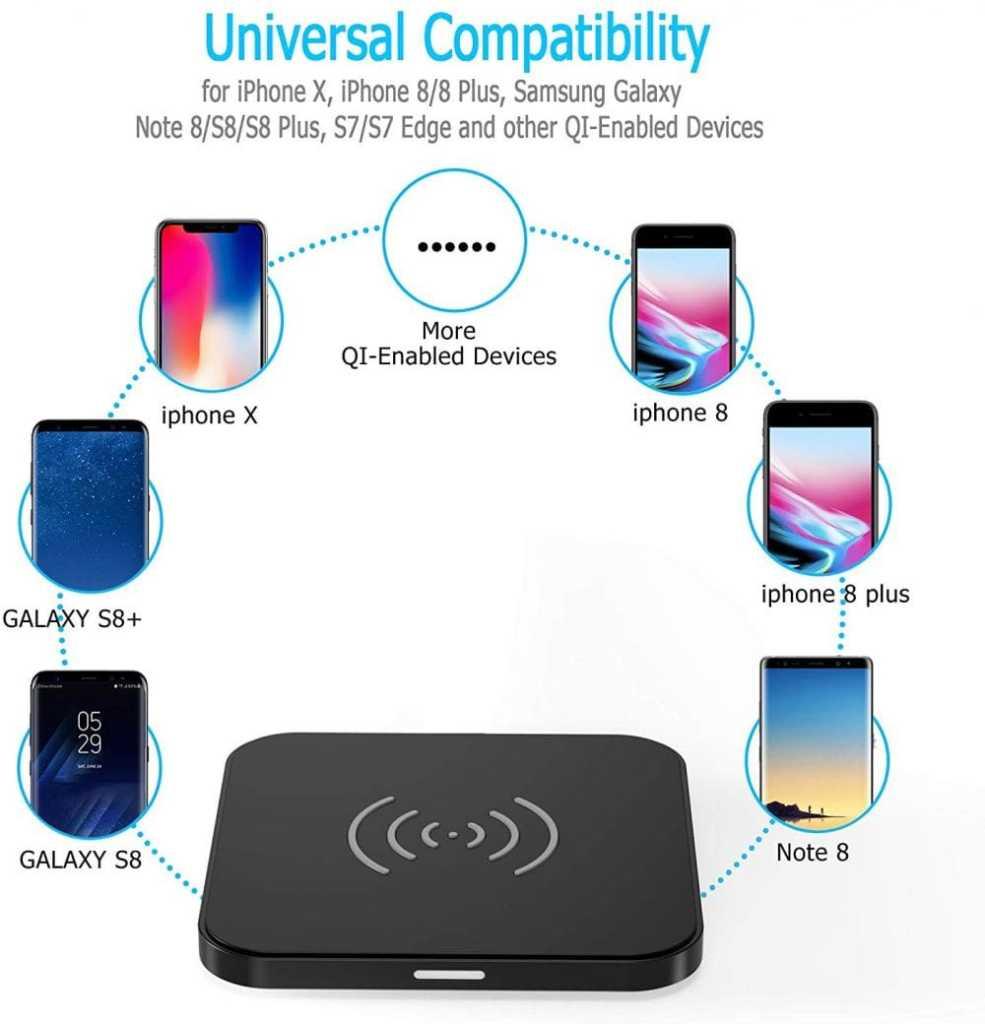 39. Wireless Charger - Souq.com under 50 SAR