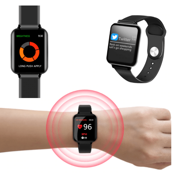 1. B57 Waterproof Sports Smartwatch & Fitness Tracker-Best AliExpress Products