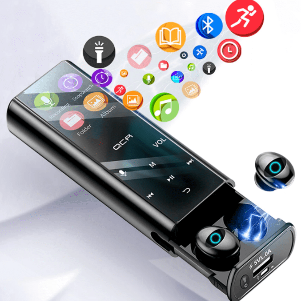 12. Multifunction Bluetooth Earphone MP3 Player Power Bank-Best AliExpress Products