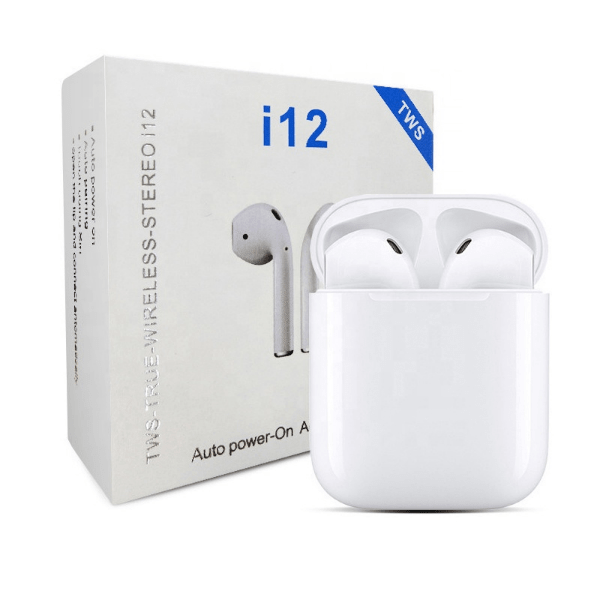 3. i12 TWS Touch Control Bluetooth 5.0 Sport Earphone-Best to buy things on aliexpress best sellers