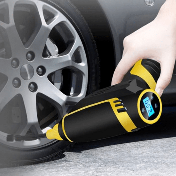33. Wired & Wireless Electric Car Tire Inflator Air Compressor Pump-Best to buy things on aliexpress best sellers