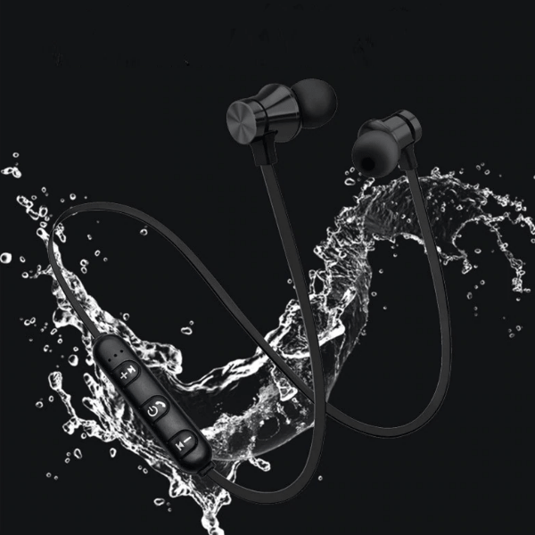 5. Magnetic Stereo Sports Waterproof in-ear Headset-Best to buy things on aliexpress best sellers