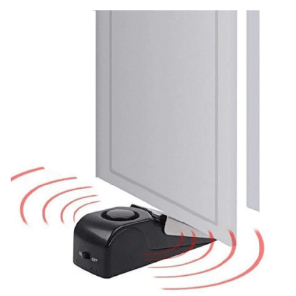 55. Mini Wireless Vibration Door Stop Alarm-Best to buy things on aliexpress best sellers