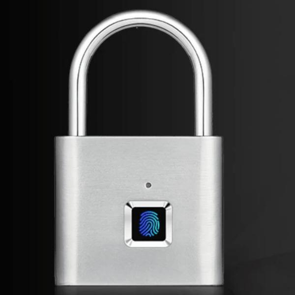 56. Smart Fingerprint Keyless USB Rechargeable Door Lock Padlock-Best to buy things on aliexpress best sellers