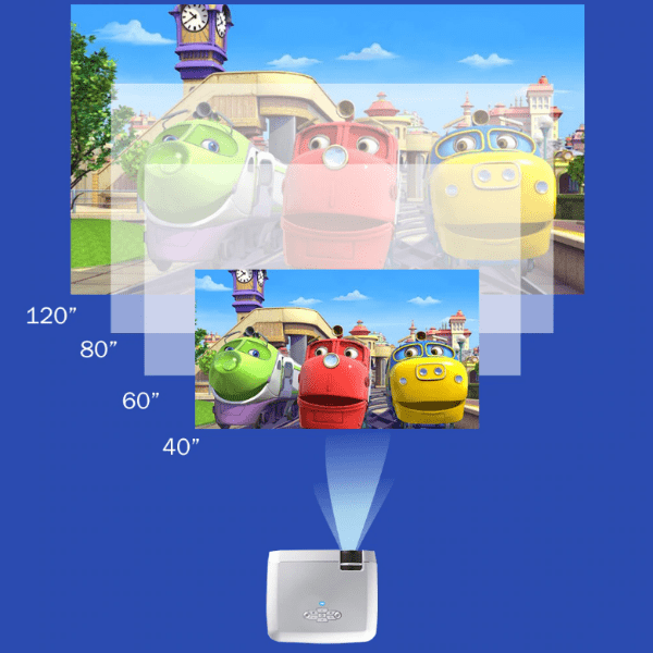 9. Wifi Mirroring Mini Projector D40 for For Smartphones-Best AliExpress Products