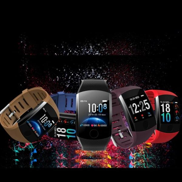 6. Makibes B01 Smart Band - Cheap Chinese Fitness Tracker with Heart Rate Monitor