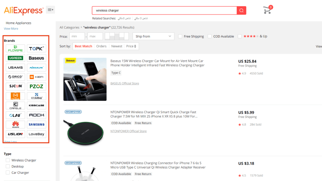 How to find Top Brands on Aliexpresss - Buyer's Guide