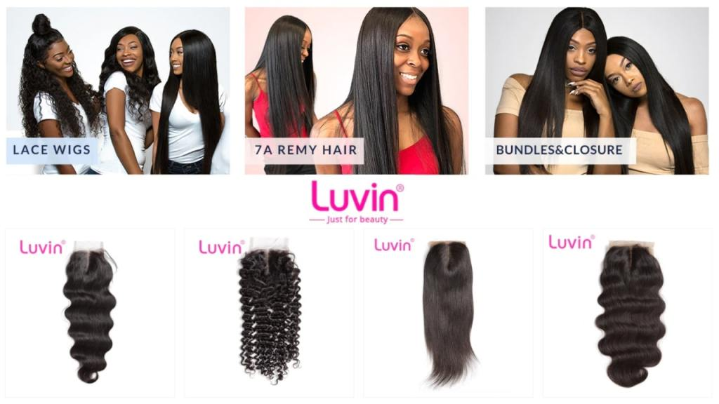 8. Luvin-best aliexpress hair vendors