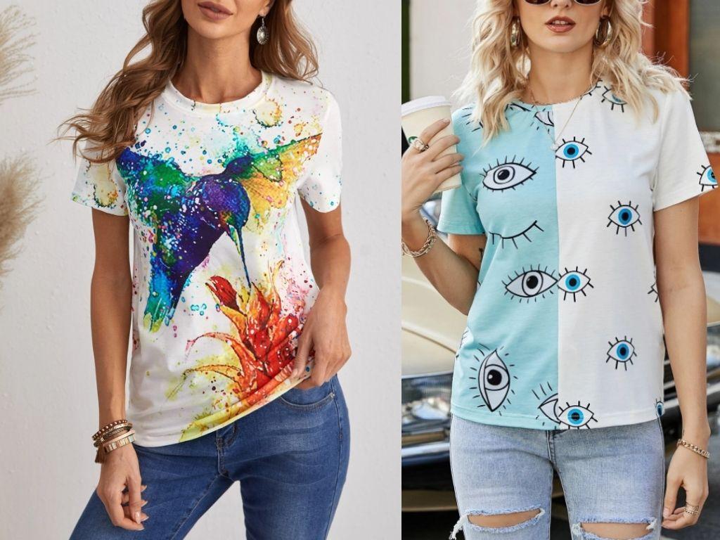 3. Graphic Tee Shirts - Teenage Clothing Fashion Trends