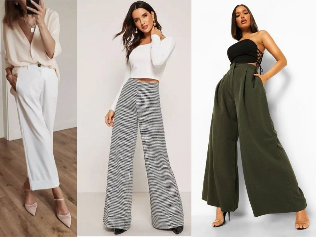 6. Wide Leg Trousers - Teenage Clothing Fashion Trends