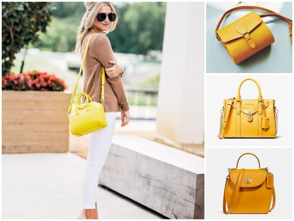 7. Enchanting Yellow Bags - Trending Bags for Teenage