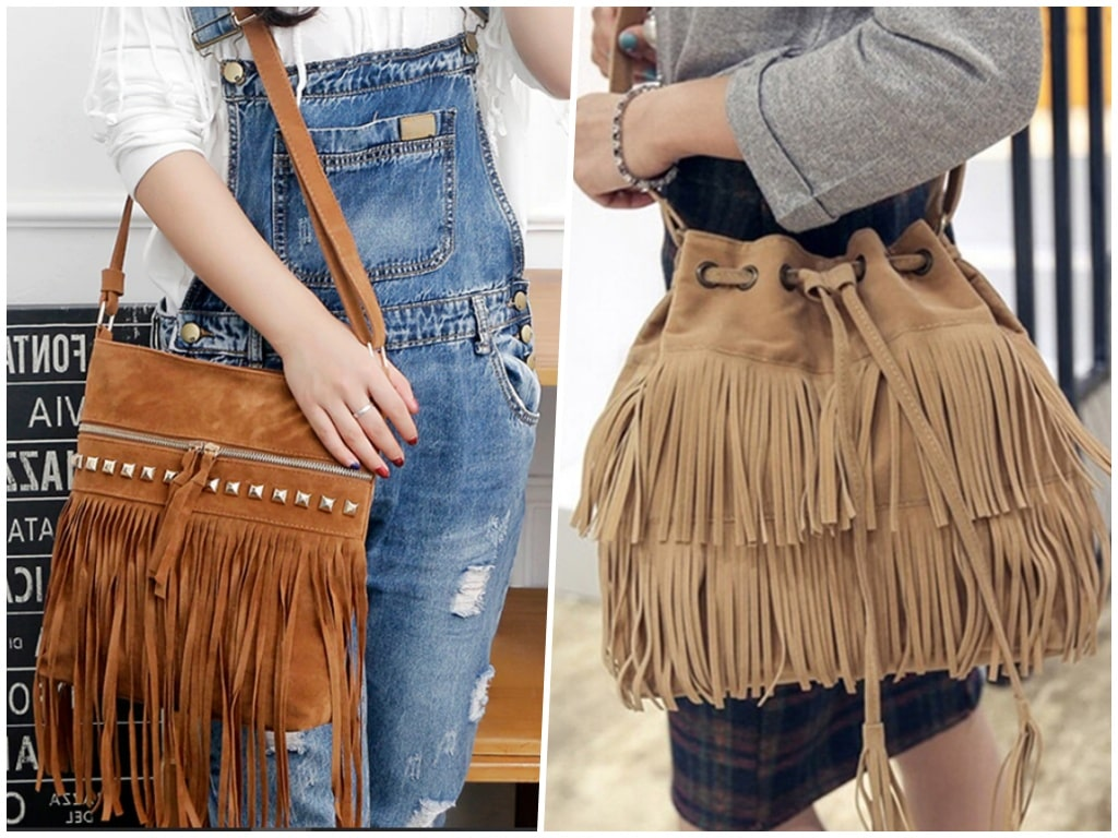 8. Dancing Fringing on the Bags - Trending Bags for Teenage