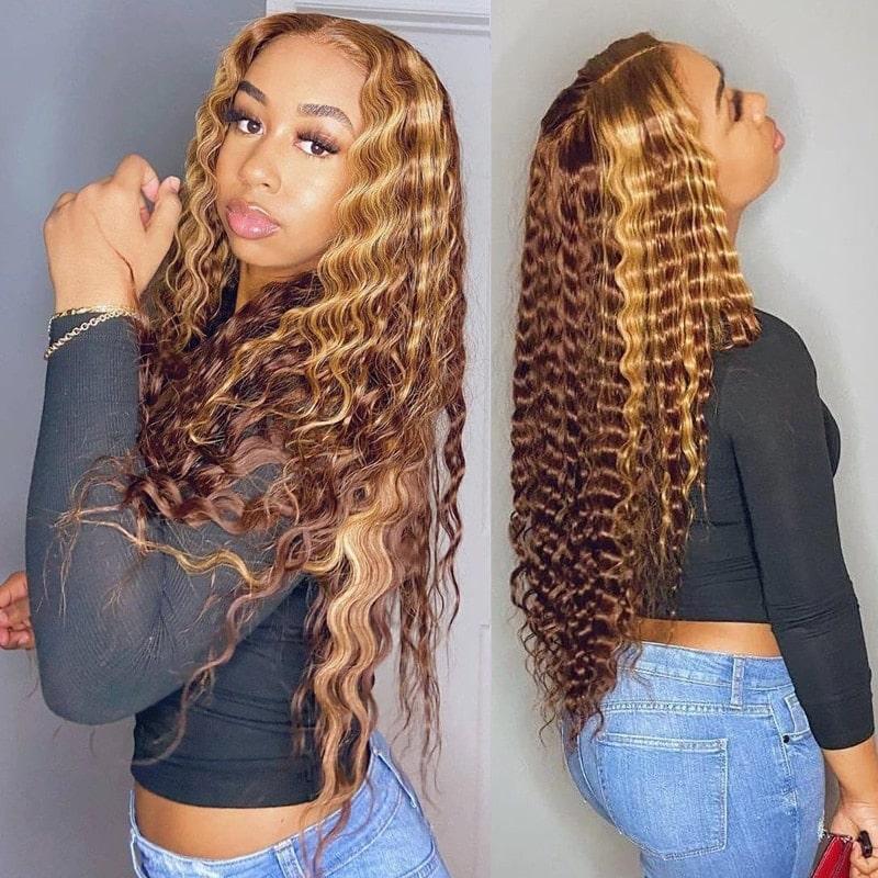 2.5. Lowell Hair Brazilian Remy Curly Wig-Best AliExpress