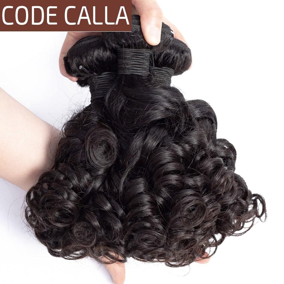3.4. Code Calla Brazilian Non Remy Curly Hair-Best AliExpress