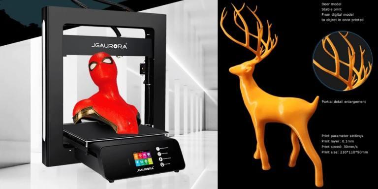 C5. JGAURORA 3D Printer-aliexpress best selling