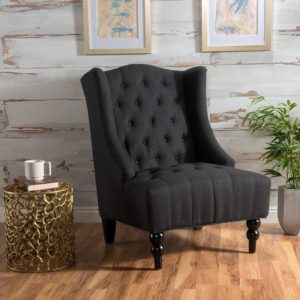 bedroom club chair modern outdoor rocking chairs top 10 comfy for the reviewcel 1 clarice tall wingback fabric