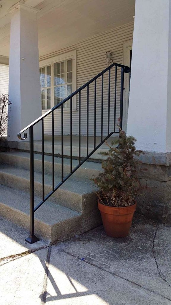 Hand Rail For Outdoor Steps Reviewcel | Iron X Handrail Picket