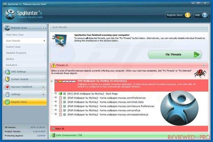 SpyHunter Malware Remediation 4.28 Free Download