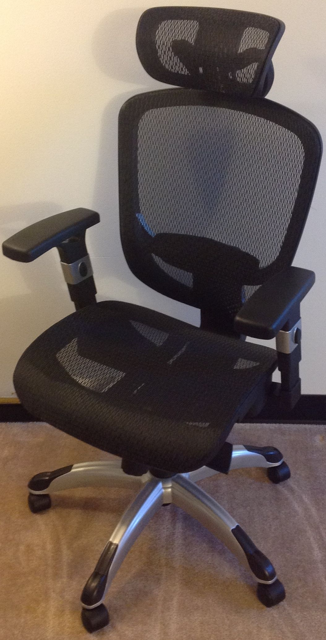 staples task chair canada reupholster leather to fabric hyken technical reviewer discretion assembled