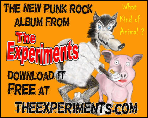 """The Experiments """"What Kind Of Animal"""""""