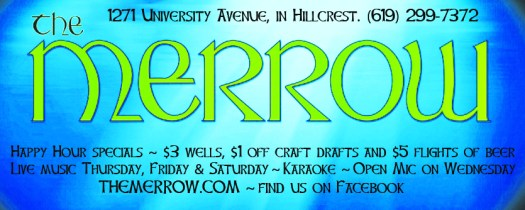 The Merrow  - 1271 University Avenue, San Diego, CA 92103. Formerly The Ruby Room