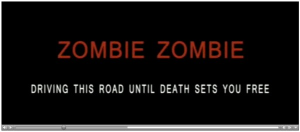Members click for the .MOV of Zombie Zombie.