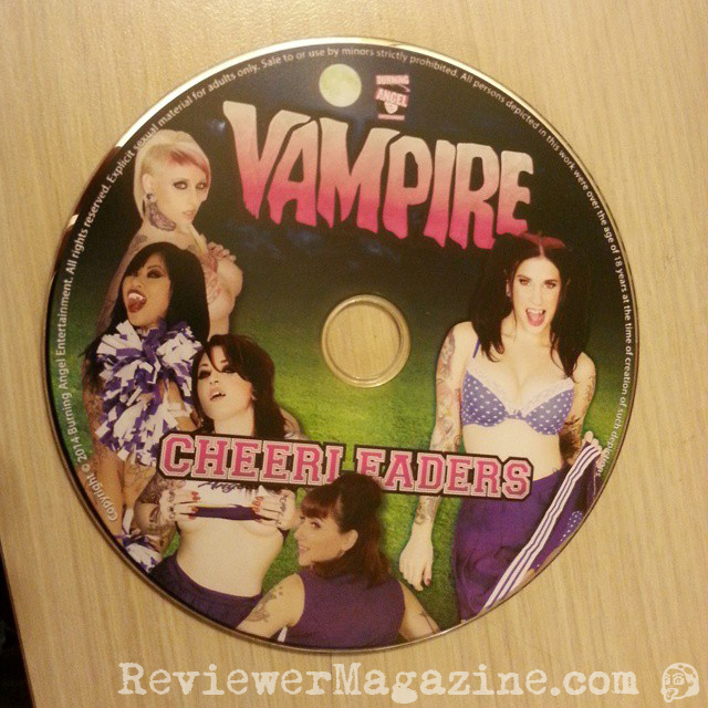 VAMPIRE CHEERLEADERS disc.