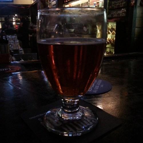 Brown Sugar from Lagunitas, sampled at Harbor Town Pub.